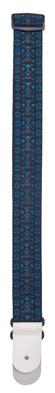 Planet Waves 50G05 Correa para guitarra de algod/ón y nylon color azul y negro 153 cm