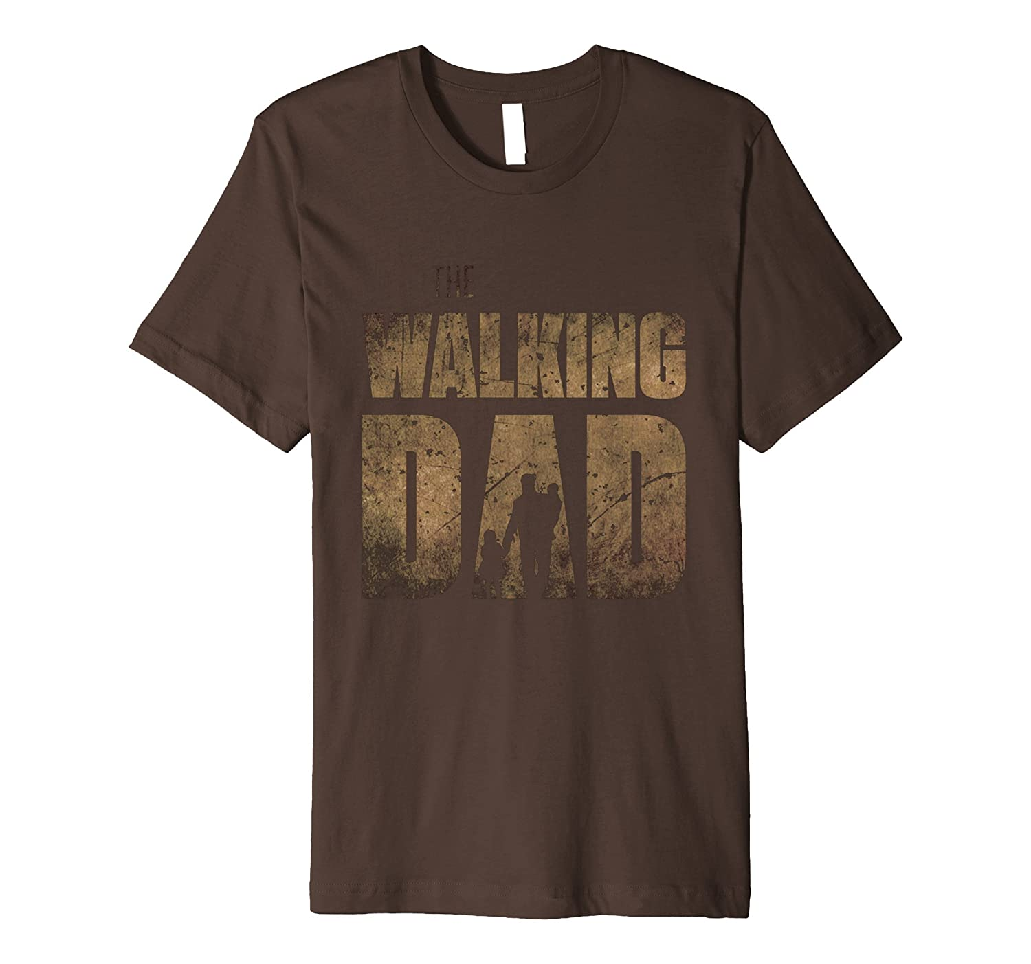 Premium Walking Dad T-Shirt Gift Fathers Day Funny Dad Shirt- TPT