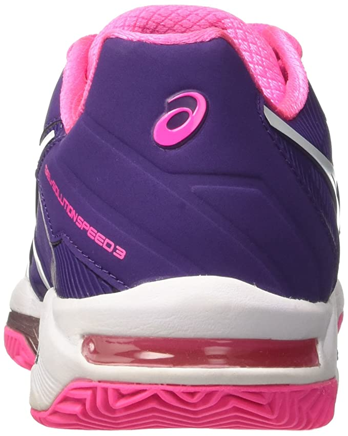 Chaussures Femme Asics Gel-solution Speed 3 Clay: Amazon.es: Deportes y aire libre