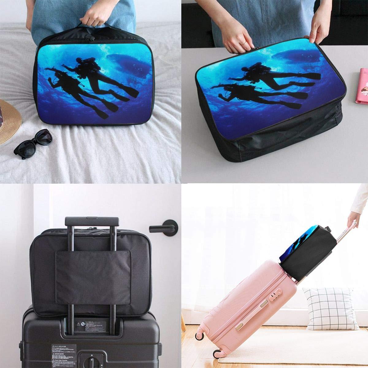 Travel Luggage Duffle Bag Lightweight Portable Handbag Bicycle Large Capacity Waterproof Foldable Storage Tote