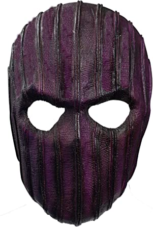 Wasoie Winter Soldier Baron Zemo Mask Cosplay Headwear Bucky Barnes Latex Masks Halloween Costume Props