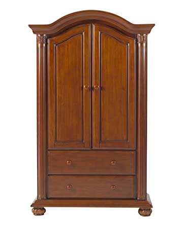 Baby Cache Heritage Armoire  Classic Chestnut