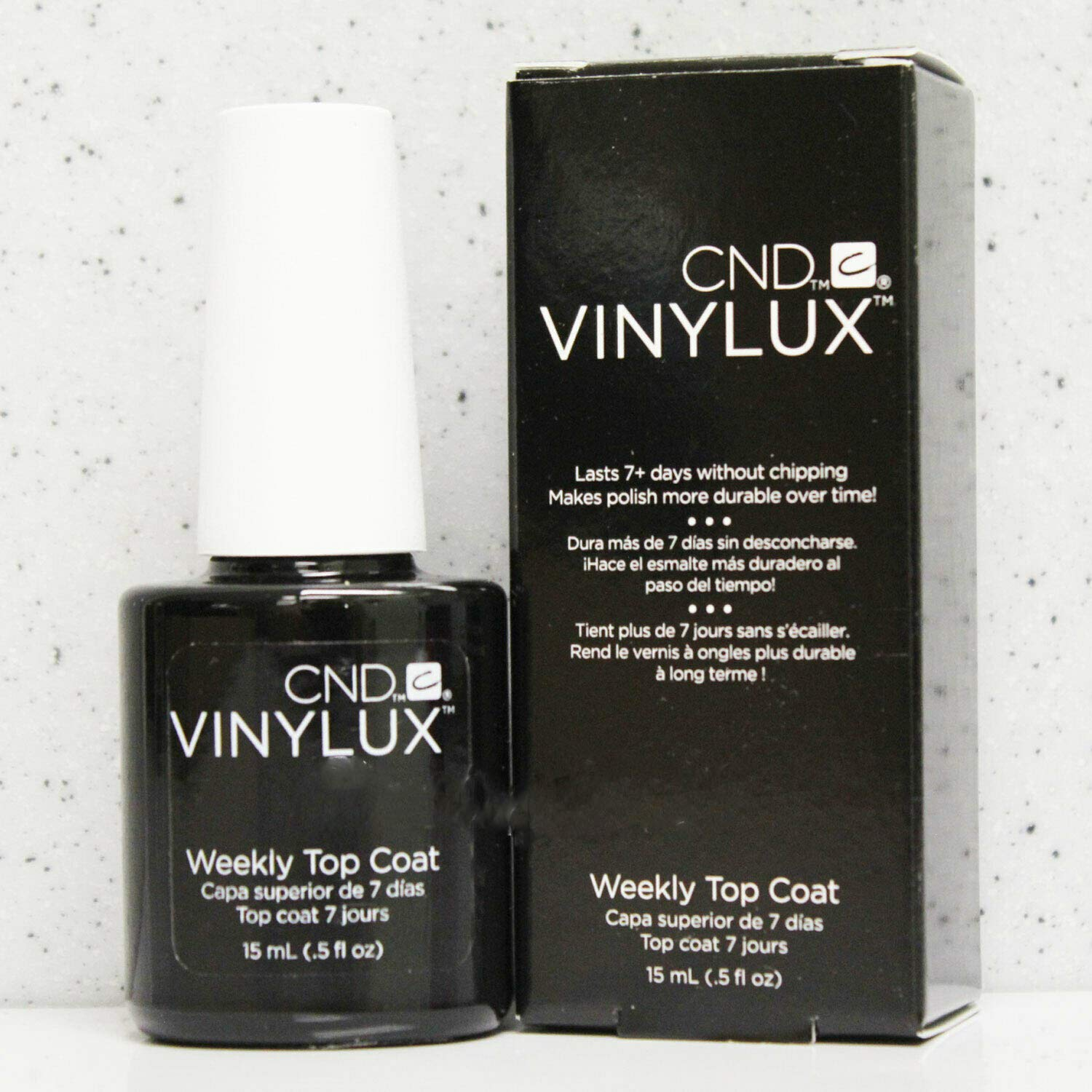 Vinylux Weekly Top Coat 0.5 oz/15 mL 7 Days Nail Lacquer Polish