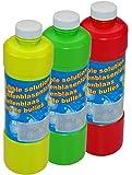 GYD 1Liter Seifenblasenflüssigkeit Nachfüller ideal für Seifenblasen Pistolen Stäbe Seifen Blasen Lauge SEIFENBLASEN FLUID für Seifenblasen Spiele & Seifenblasenmaschine