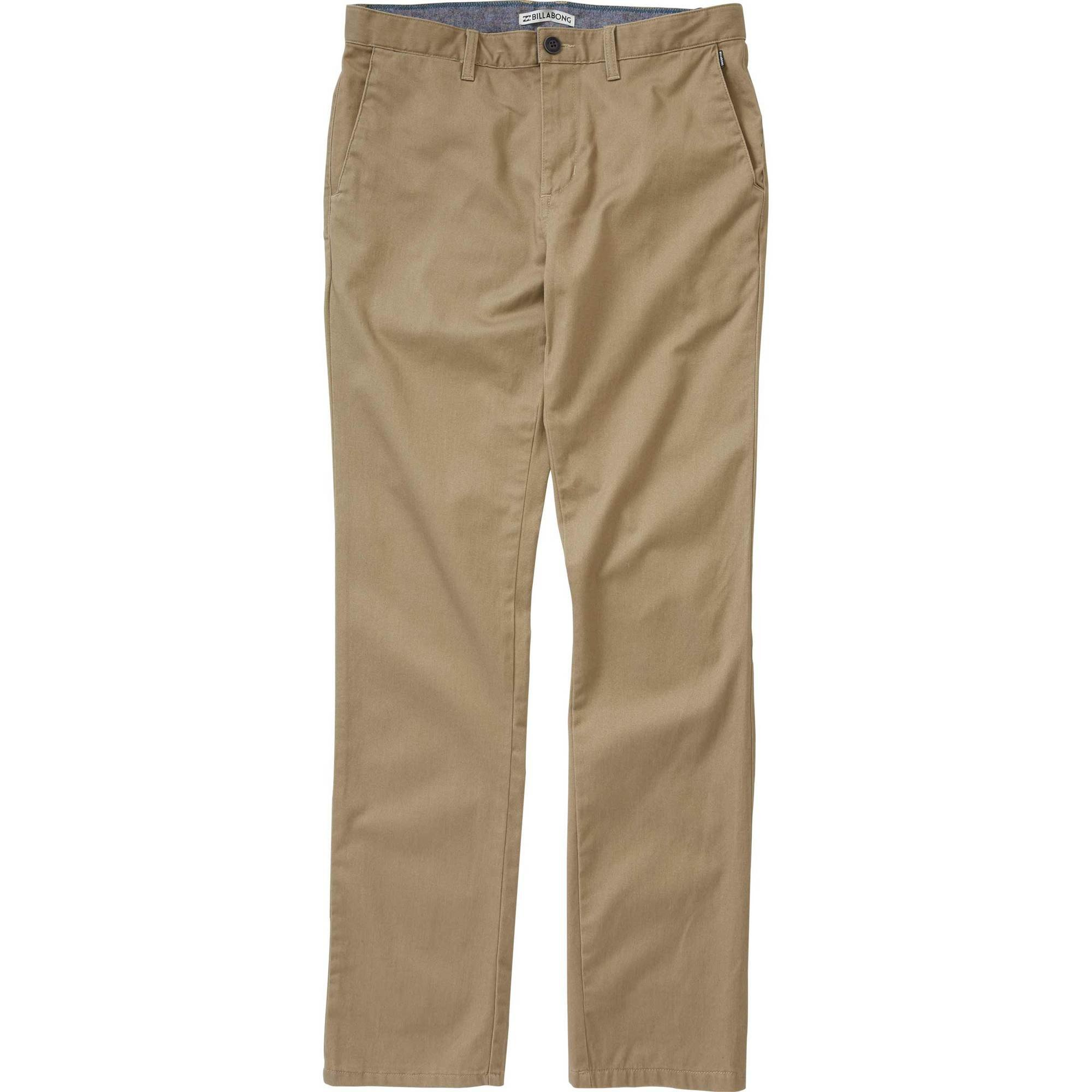 Billabong Boys' Carter Chino Pant Dark Khaki 4S