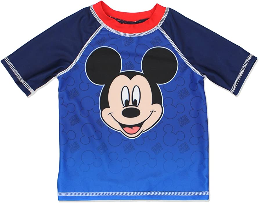 03c1a23d94fbf Mickey Mouse and The Roadster Racers Toddler Boys Swim Trunks and Rash  Guard Set Dreamwave Clothing, ...