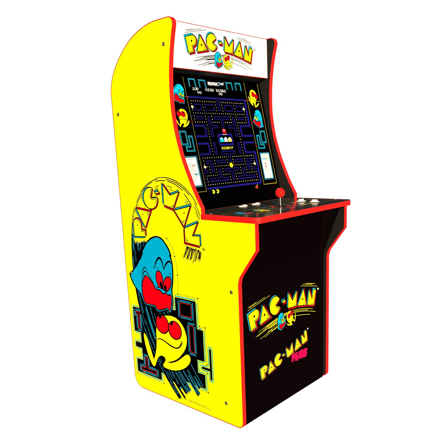 Arcade 1Up Pac-Man Deluxe Arcade System with Riser, 5ft by Arcade 1Up (Image #5)