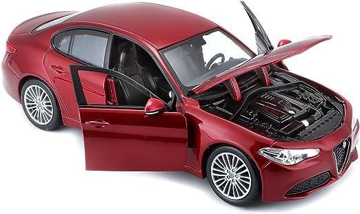 Alfa Romeo Giulia Typ 952 Limousine 2016-20 rot red metallic 1:43 Bburago