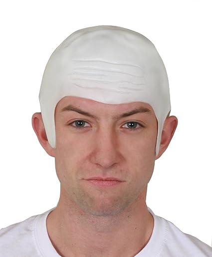 Une perruque chauve imitation crâne rasé
