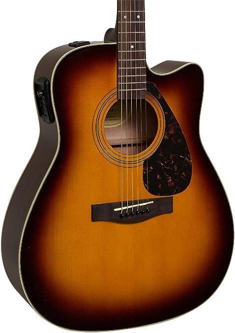 Yamaha fx335 C Dreadnought Guitarra Electroacústica guitarra ...