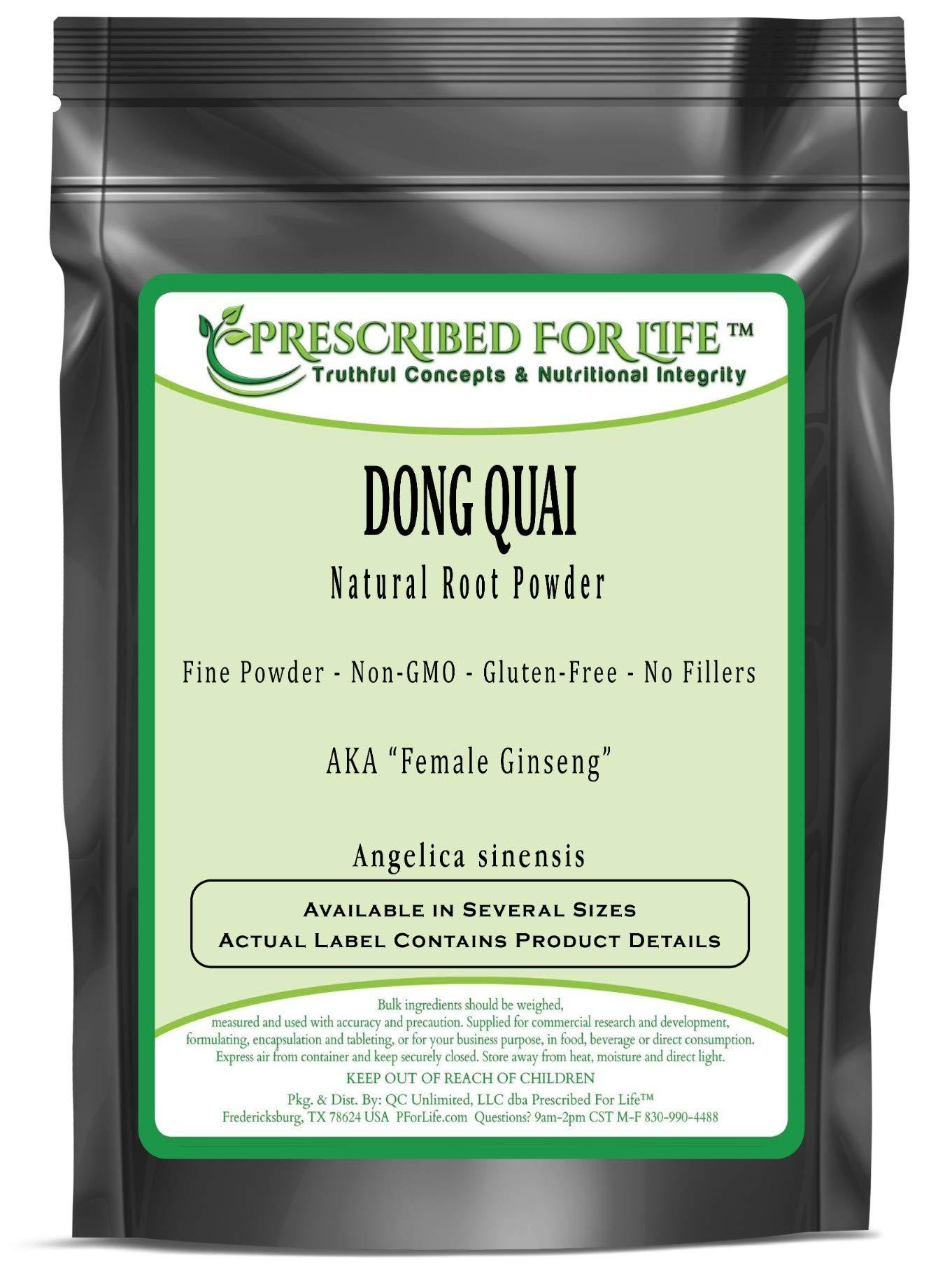 Dong Quai - Natural Root Fine Powder (Angelica sinensis), 1 kg