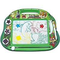 Lexibook CRANX550 Multicolor magische magnetische dieren tekenbord, artistiek creatief speelgoed voor meisjes en jongens…