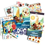 Disney Moana Stickers and Tattoos Party Favors Pack -- 50 Moana Temporary Tattoos and Over 250 Stickers (Moana Party Supplies, Includes Bonus Tattoos)