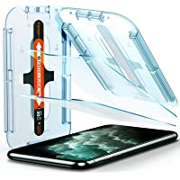 Spigen EZ Fit Tempered Glass Screen Protector for iPhone 11 Pro Max and iPhone XS Max - 2 Pack