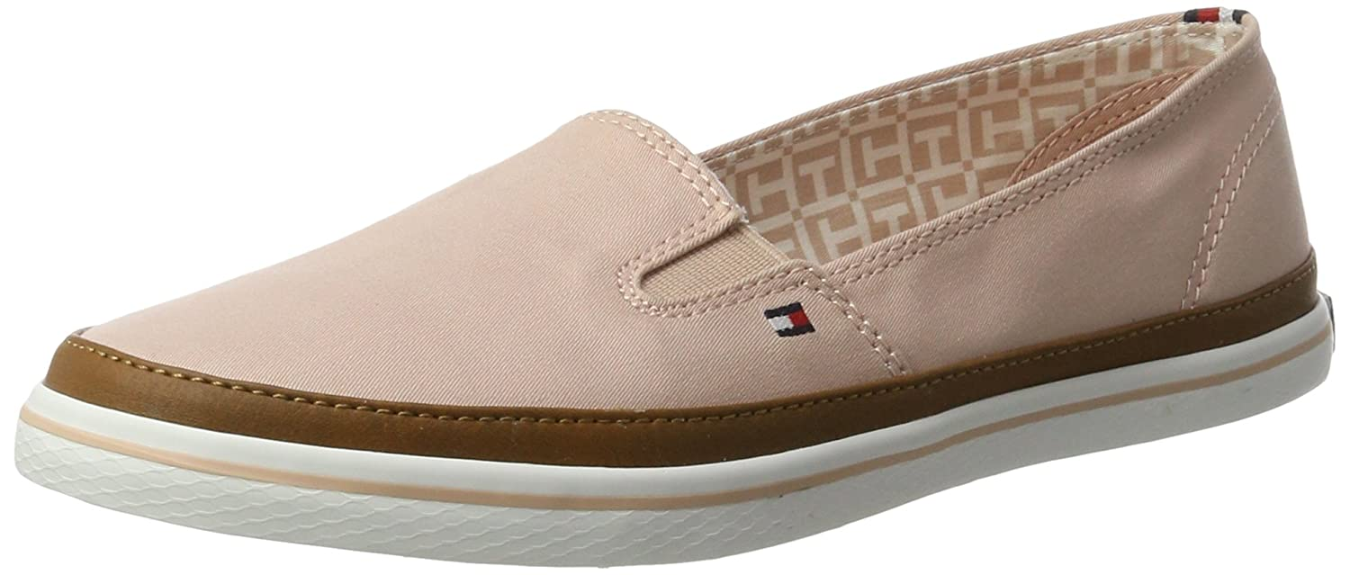 Tommy Hilfiger Damen Iconic Kesha Slip on Slipper, Pink (Dusty Rose 502)