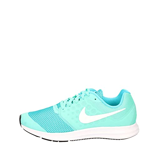 Nike Kids YA Running Downshifter 7 GS - Hyper Turquoise/White