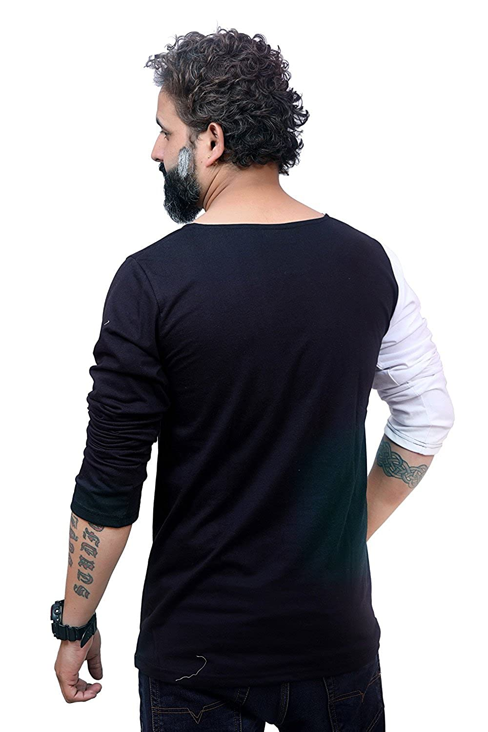 f697a0e92 EG Scoop Neck T-Shirt for Men's: Amazon.in: Clothing & Accessories