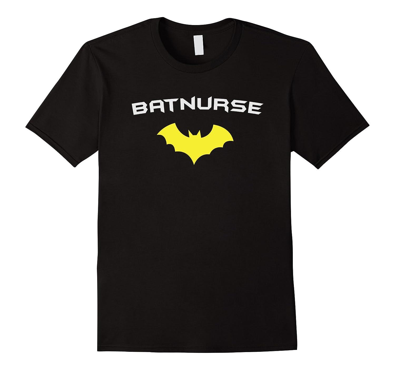 BATNURSE - Super Hero Nurse Medical RN T Shirt-CL