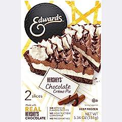 Edward's Single Serve Hershey's Chocolate Creme Pie, 5.34 oz (Frozen)