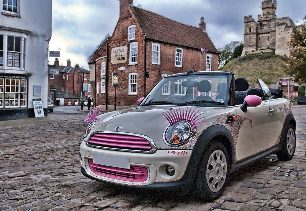 Pink Eyelashes For Cars Amazon Car Motorbike