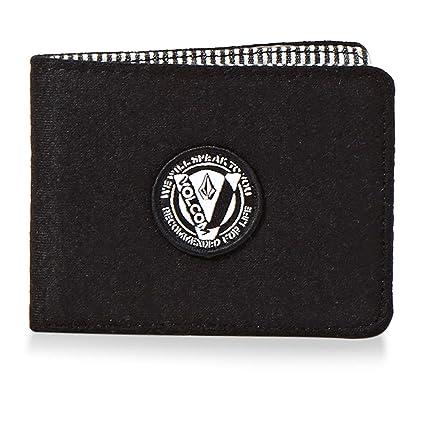 Site officiel coût modéré concepteur neuf et d'occasion Volcom WooLStripe Wlt Porte-Monnaie, 22 cm, Noir (Black ...