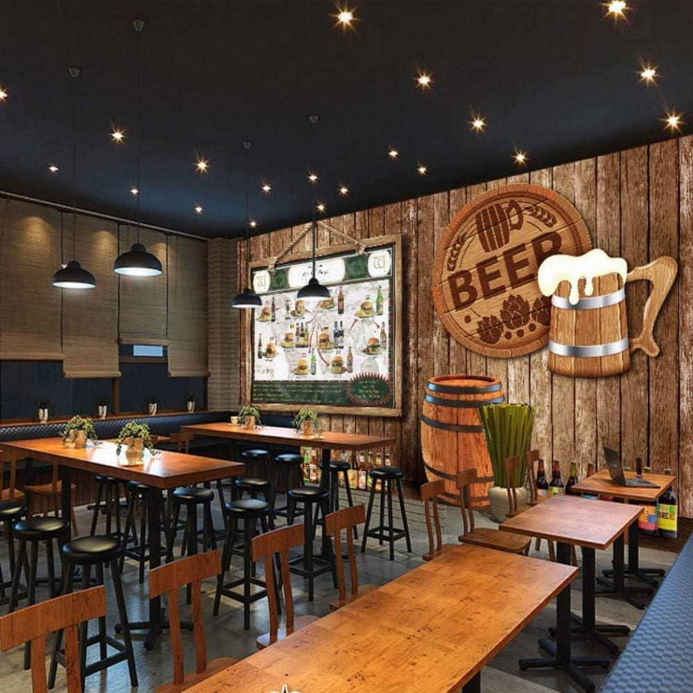 Ytdzsw Custom 3D Photo Wallpaper Cerveza Deliciosa Hamburguesa ...
