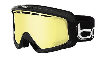 f713dca72152 BOLLE low light 2015 NOVA II Ski Snowboard Goggles BLACK  Lemon Cat.1 21085
