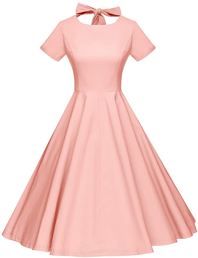 500 Vintage Style Dresses for Sale | Vintage Inspired Dresses GownTown Womens 1950s Vintage Retro Party Swing Dress Rockabillty Stretchy Dress $29.99 AT vintagedancer.com