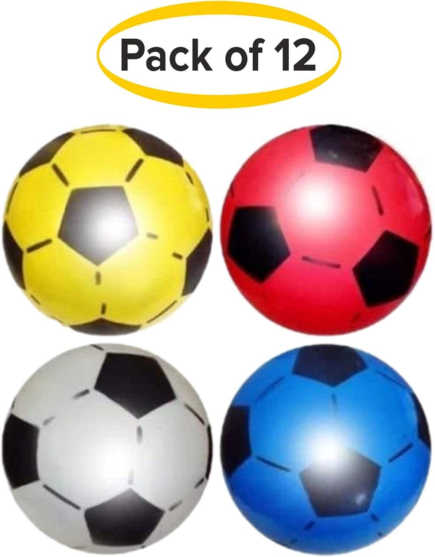 Pelotas de fútbol hechas de PVC, 22,5 cm de diámetro desinfladas ...