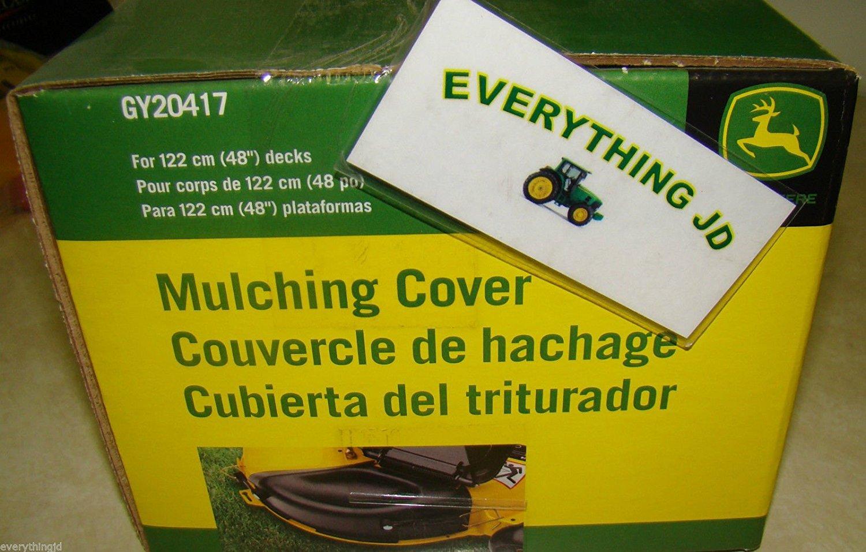 L130 155C LA140 LA130 GY20417 48 John Deere Mulching Cover Fits L120 LA145