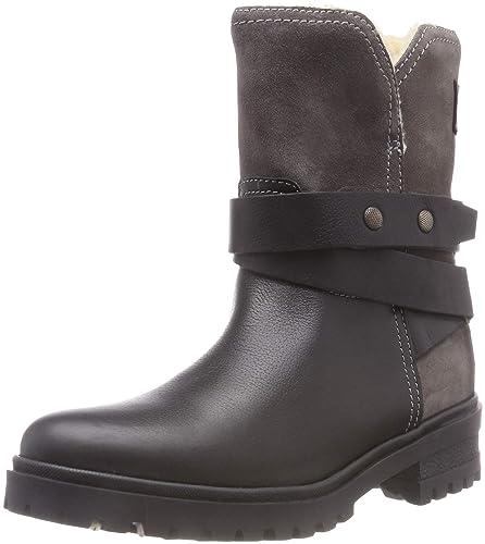 en soldes e9740 933ad Tommy Jeans Warm Cleated Biker Boot, Bottes Motardes Femme ...