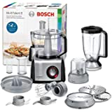 Bosch MC812M844 Robot da Cucina Multifunzione, 1250 W, Alluminio