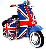 Union Jack Scooter Fridge Magnet - MS6J