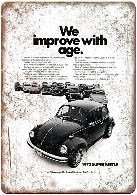 HALEY GAINES Volkswagen Super Beetle Placa Cartel Póster de ...