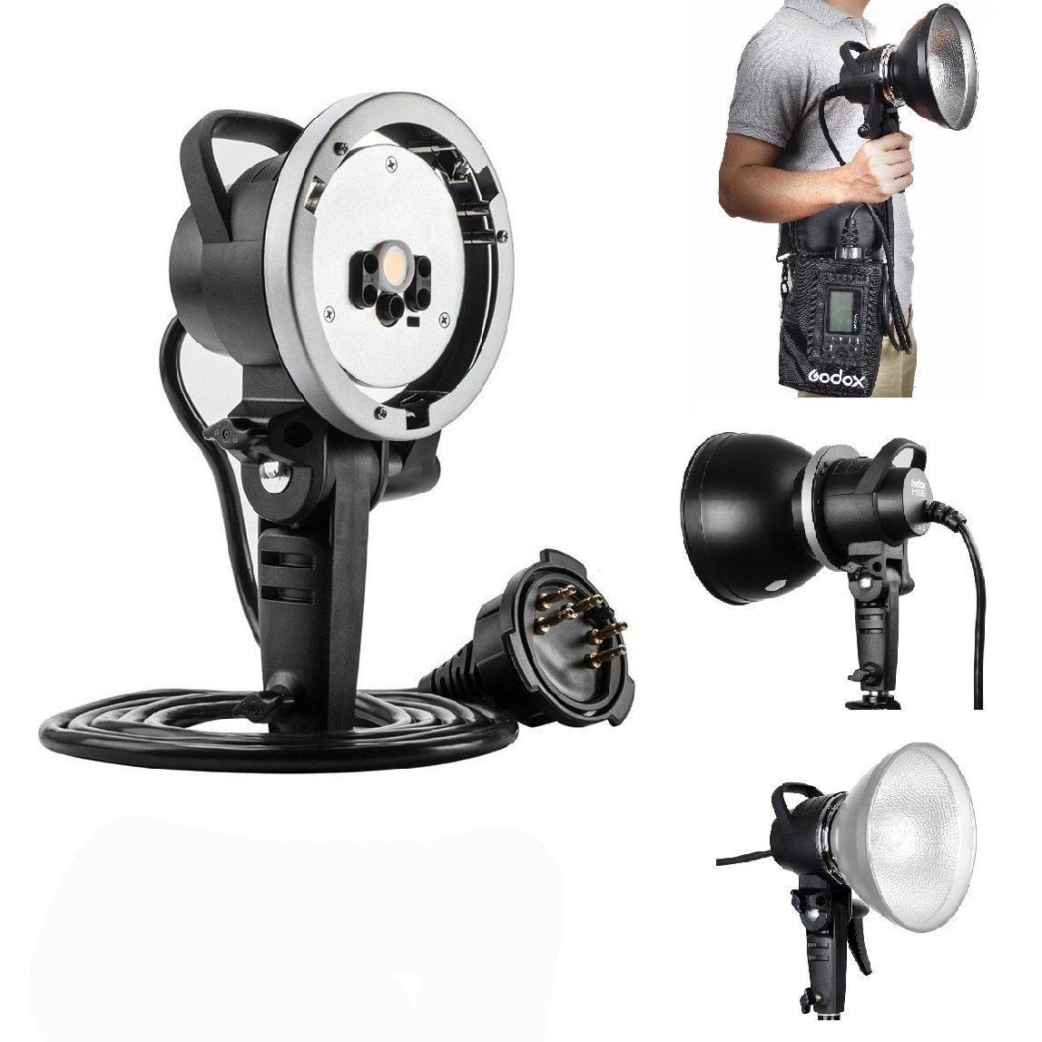 Godox AD600BM AD sync 1 / 8000s 2.4G Wireless Flash Light Speedlite,Godox XPro-C for Canon Cameras,AD-H600B Head,PB-600 Bag,CB-09 Suitcase Carry Bag,LETWING Camera Neck Strap by Godox (Image #6)