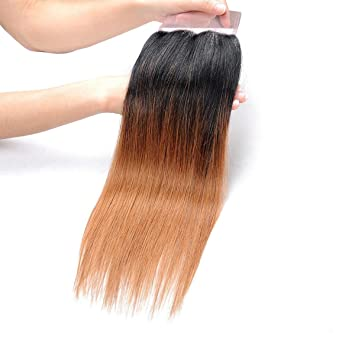 Amazon Am Extensions Brazilian Ombre Hair Straight Blond T1b