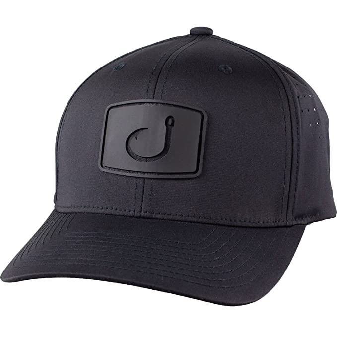 Avid Mens Flexfit Fitted Mesh Hat, Black, OS at Amazon Mens Clothing store: