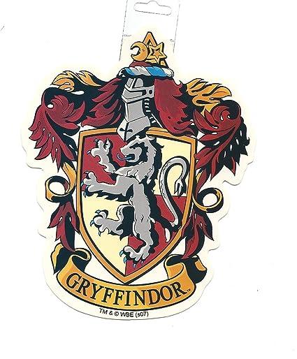Harry Potter Gryffindor School Crest Sticker Large Vinyl Official