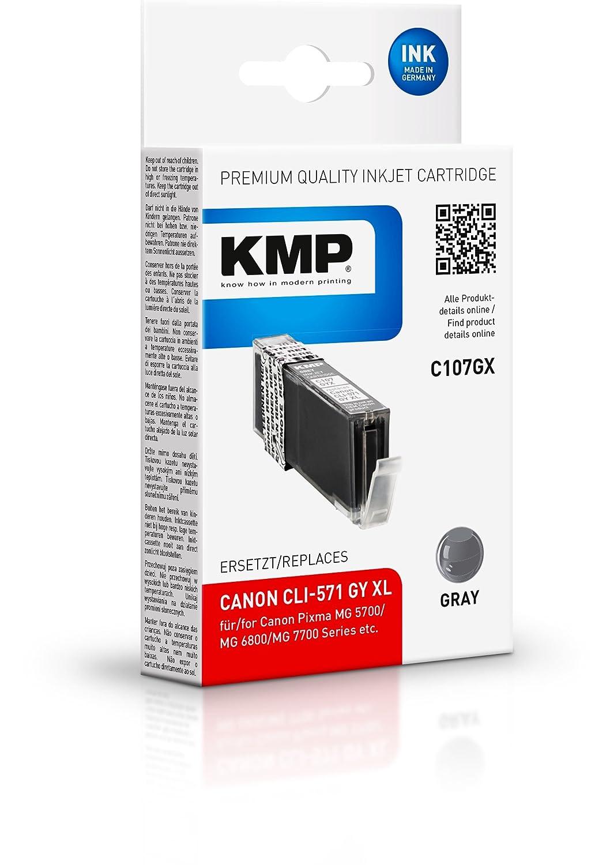 KMP - Cartucho de tinta para Canon Pixma MG 5700/MG 6800/MG ...