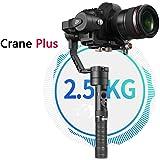 Zhiyun Crane Plus 3 Axis Handhelp Gimbal Stabilizer 2.5 KG(5.5lbs) Playload with POV Mode, MotionMemory, Nightlapse, Smartfollow …