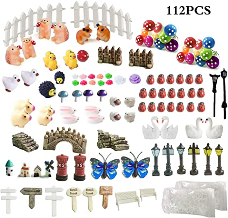 Hérisson pour Miniature fée jardin ornement Dollhouse Craft Home De IY