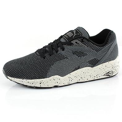 Puma Trinomic R698 Knit Mesh Noir: : Chaussures et Sacs