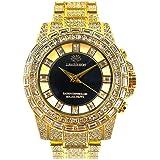 【ノーブランド品】 1年保証 クロノグラフ 腕時計 06金 自動巻き 手巻き 防水