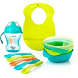 Tommee Tippee Explora Feeding Kit Including Bib (Blue)