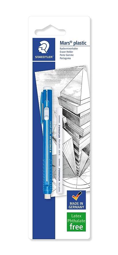f0ef1b63318 STAEDTLER 528 50BKDA. Portagomas para papel y papel vegetal. Paquete con  una unidad de