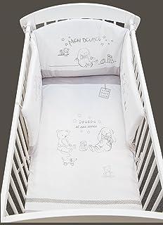 tour de lit bébé doudou et compagnie Doudou et Compagnie Linge de Lit Lapin Bonbon Tour de Lit: Amazon  tour de lit bébé doudou et compagnie