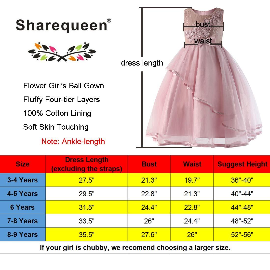 6b6e1df3a Amazon.com  Sharequeen  Little Flower Girls Dresses