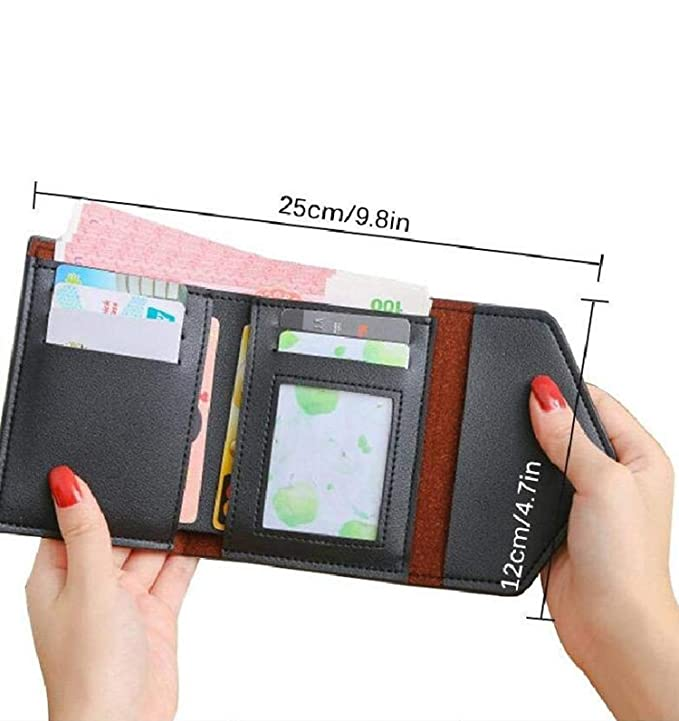 Amazon.com: Tobert Design - Cartera de piel sintética con ...