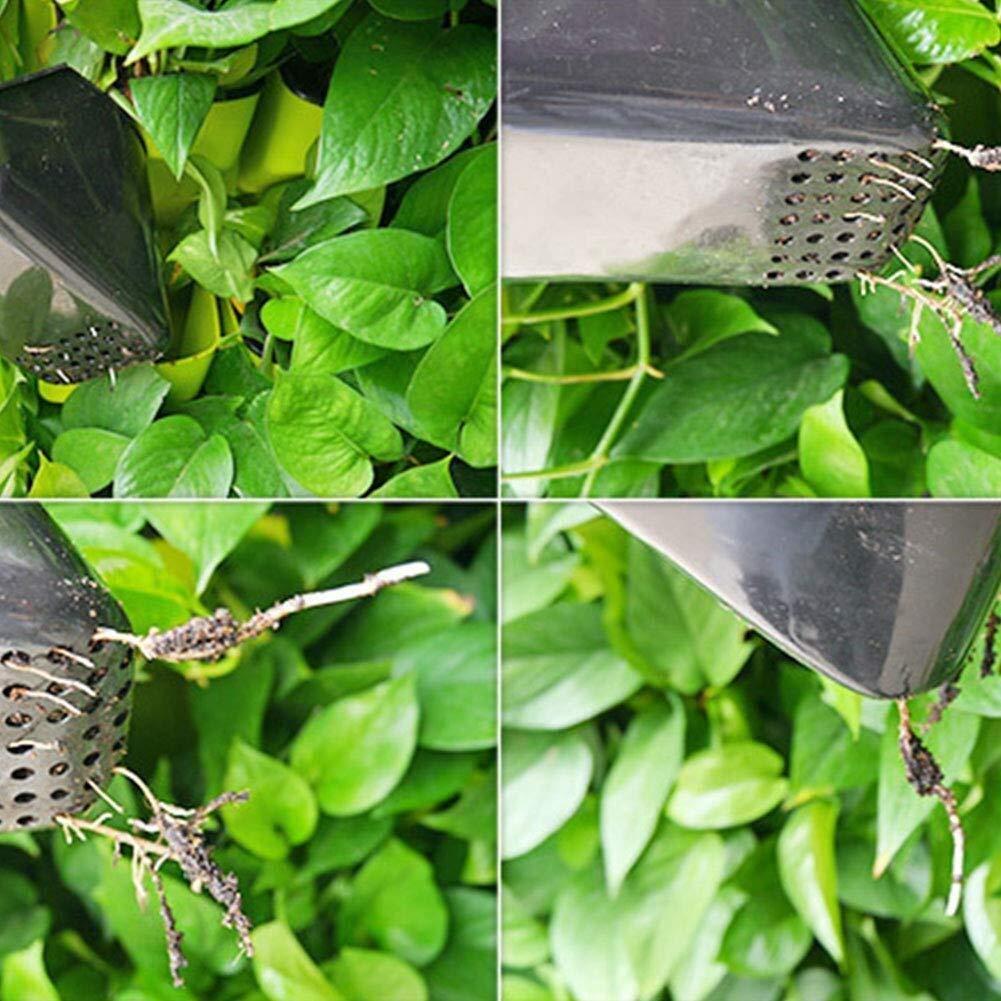 Maceta Jardinera de Pared Vertical de riego autom/ático de pl/ástico montada en la Pared for Plantas de Flores Vegetales de Hierbas al Aire Libre en Interiores Color : Green