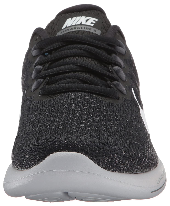 Nike Damen Mehrfarbig Wmns Lunarglide 9 Laufschuhe, Mehrfarbig Damen (schwarz/Weiß/Dark Grau/Wolf Grau) Mehrfarbig (schwarz/Weiß/Dark Grau/Wolf Grau 001) 9734a5